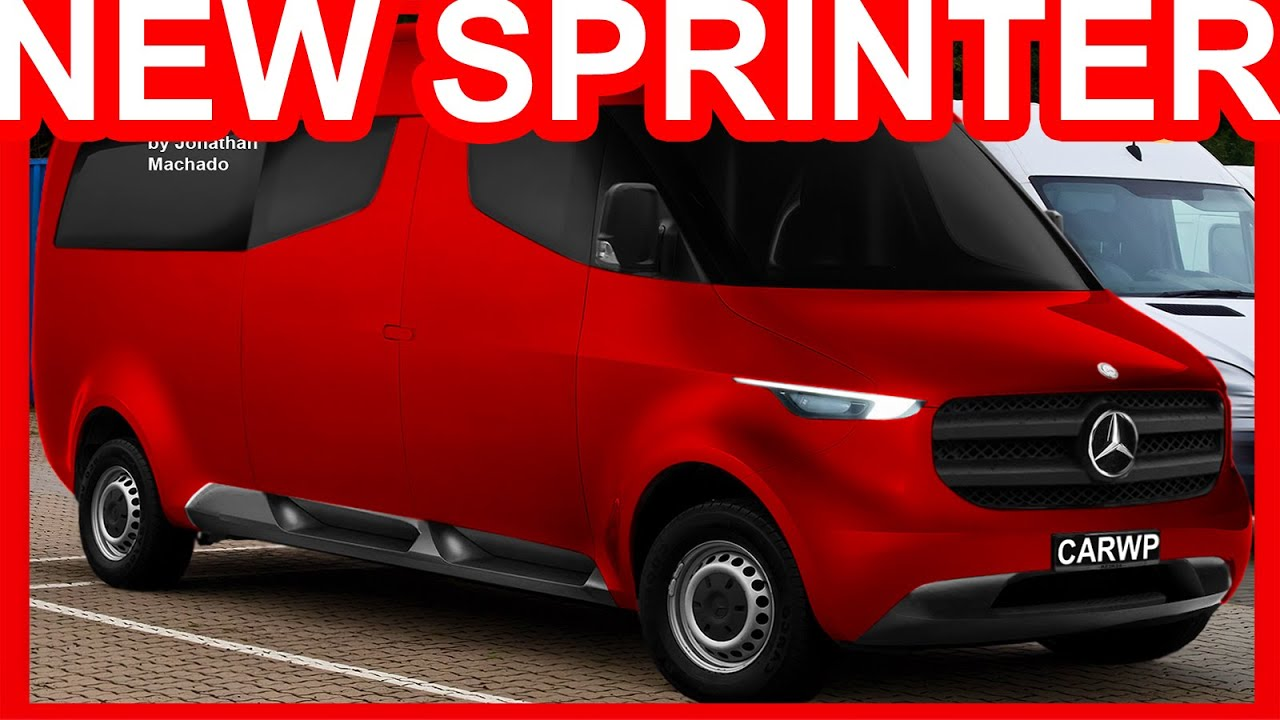 The minibuses based on the mercedes benz sprinter 2018 also gets to - Photoshop New 2018 Mercedes Benz Sprinter Vision Van Concept Sprinter Youtube