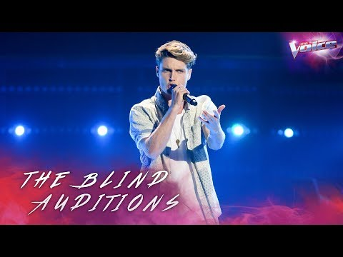 Blind Audition: Pete McCredie sings Blame It On Me | The Voice Australia 2018