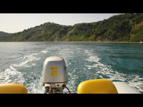 RIB boat Honda 40 HP (Adriatic Sea, Italy)