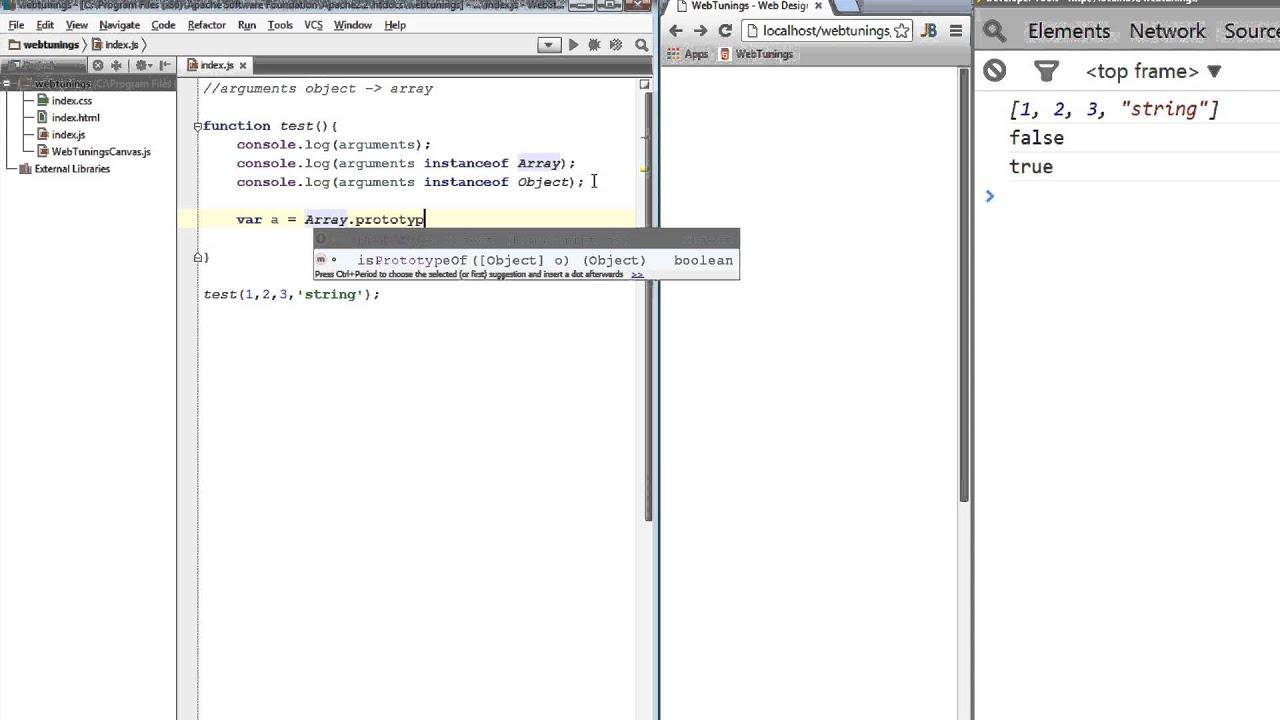 JavaScript Tutorial - Array.prototype.slice.call(arguments ...
