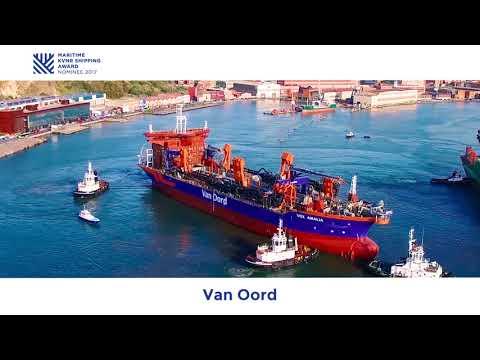 Maritime KVNR Shipping Award - Genomineerde Van Oord met Vox Amalia and Vox Alexia
