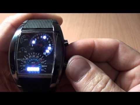 Посылка с Aliexpress #10. Часы светодиодные TVG водонепроницаемые + тест.