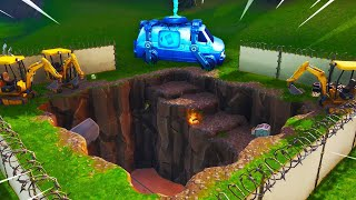*NEW UPDATE* BUNKER OPENING RIGHT NOW + RE SPAWN VAN! (FORTNITE BATTLE ROYALE)