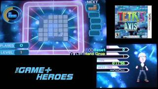 Tetris Axis 3DS Review