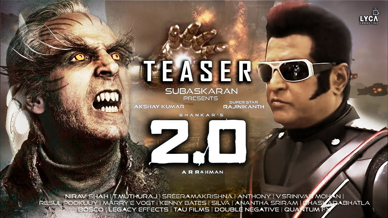 Image result for 2.o teaser