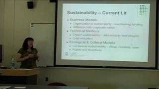 Lori Eakin: Sustainability and Social Capital: Exploring the