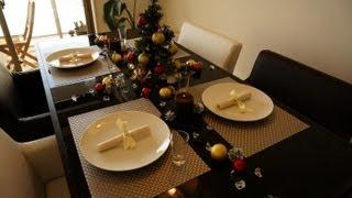 100均でクリスマステーブルコーディネート - christmas table decor by 100yen items テーブルコーディネート 検索動画 2