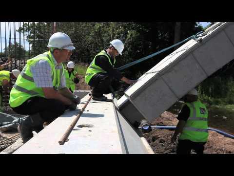 Construction - Macrete FlexiArch Bridge System
