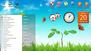 Windows 7 Aero Blue Lite Edition 2016 Live Preview