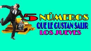 LOS MEJORES 5 NÚMEROS QUE SALEN LOS JUEVES