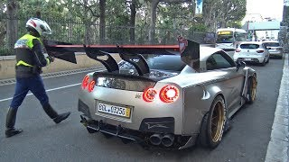 Download 1850HP NISSAN GT-R BUSTED BY THE POLICE! Mp3 and Videos