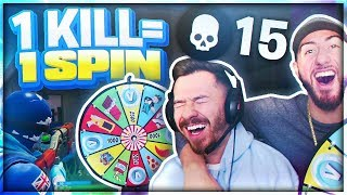1 KILL = 1 SPIN! The Wheel Of Fortnite With ItsYeBoi!