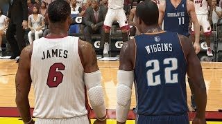 NBA 2K14 MyCareer Andrew Wiggins - LeBron vs. Wiggins
