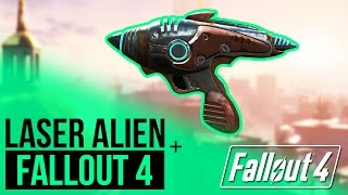 Fallout 4 - Laser Alien - Arme rare [FR]