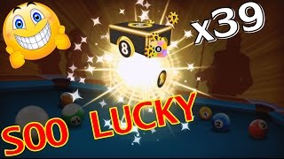 8 Ball Pool - LUCKY EPIC BOXES OPENING (CHECK THE FIRST COMMENT)
