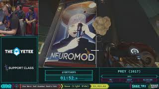 Prey by DrTChops in 12:17 AGDQ 2018