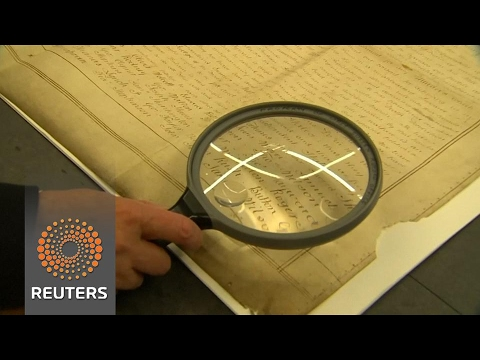 Rare copy of Declaration of Independence unearthed - in England