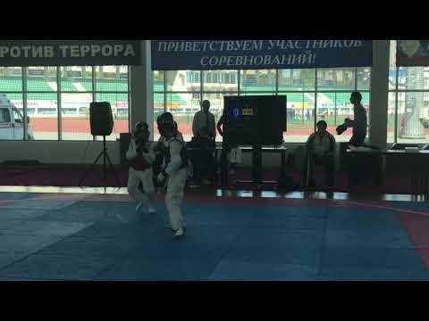 Первенство Дагестана юноши (2005-2007г) Багаров Ислам & Гаджимагомедов Курбан 33 кг.