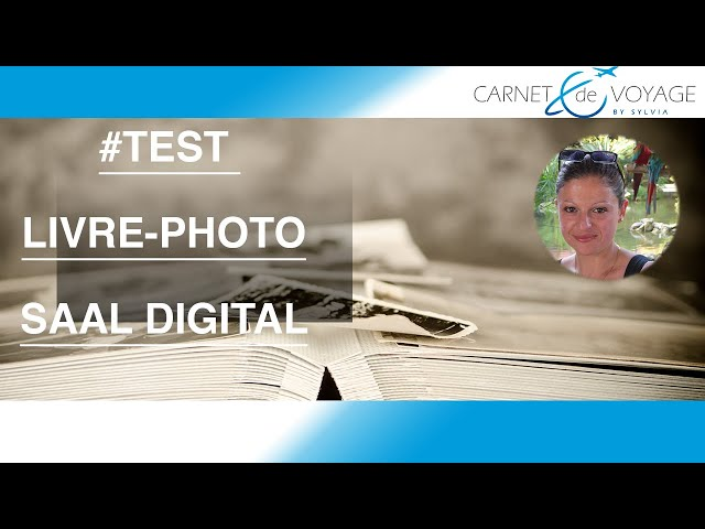 Livre photo  Saal Digital - test de produit