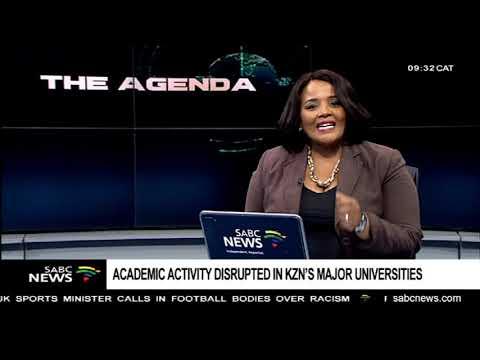 Academic activity disrupted in KZN's major universities
