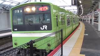 おおさか東線201系鴫野駅発車