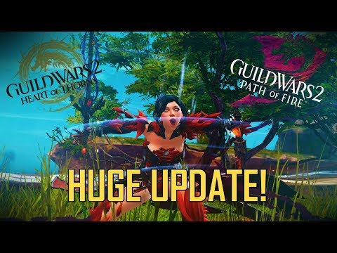 Guild Wars 2 – The BIGGEST Patch EVER! (W/ memes)