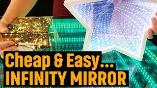 How to Make an Infinity Mirror (Cheap & Easy!)