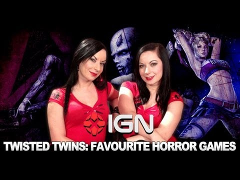 The Twisted Twins Talk Horror Games