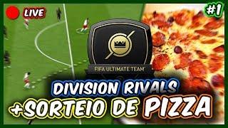 FIFA 20 | DIVISION RIVALS - TEVE SORTEIO DE PIZZA NA LIVE - MELHORES MOMENTOS