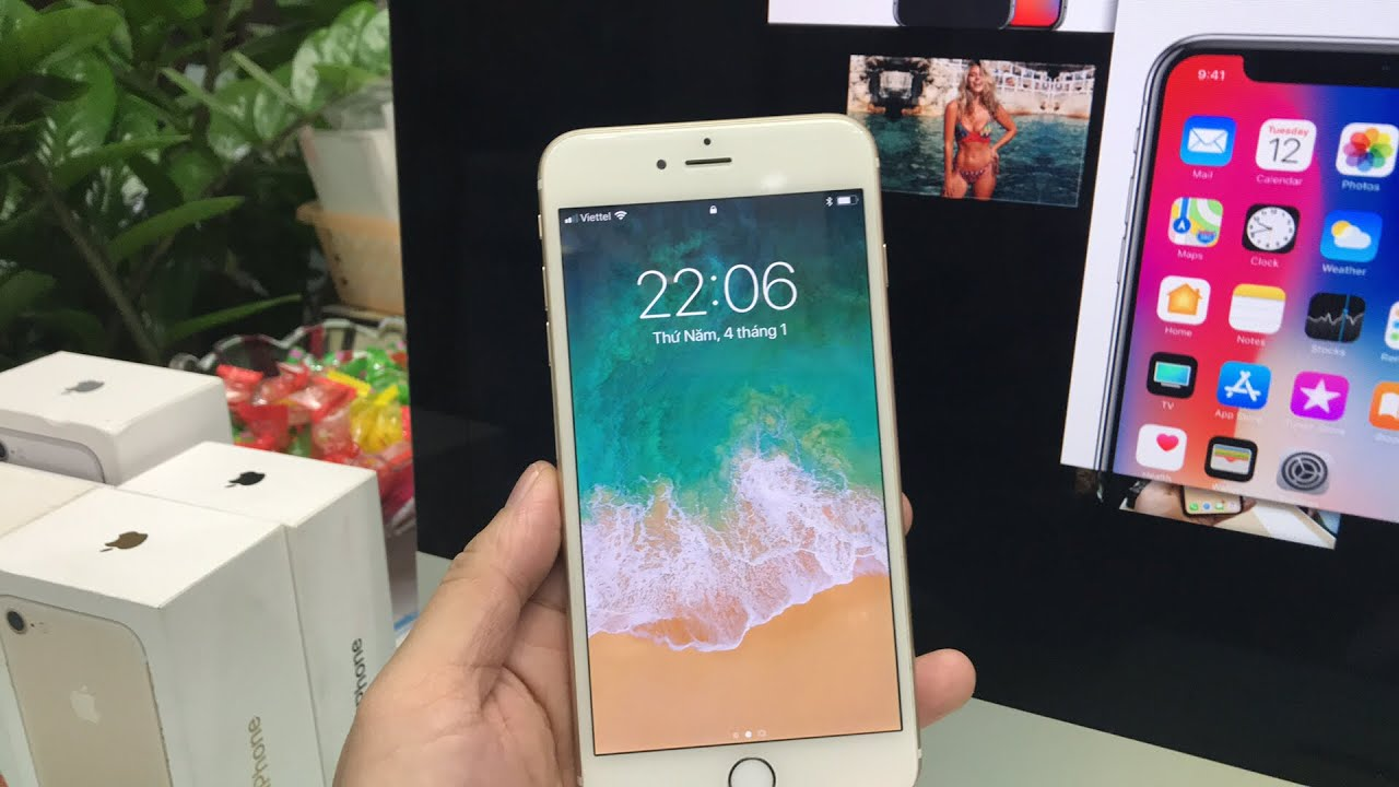 iPhone 6 Plus 64gb hàng qua sử dụng 6.990k