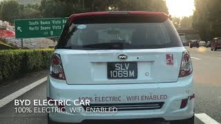BYD Car Fully Electric Singapore Roads 2018