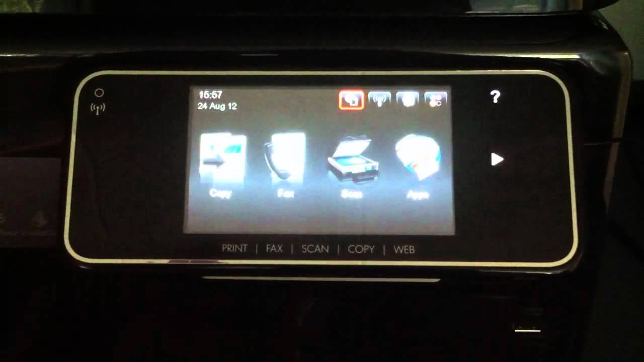 Hp Officejet Pro 8500a Blue Screen Of Death Youtube