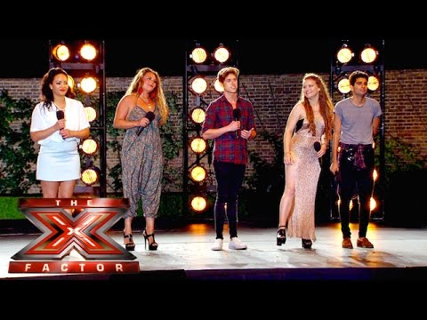 Group 12 sing Be My Ba for the Judges  Boot Camp  The X Factor UK 2015