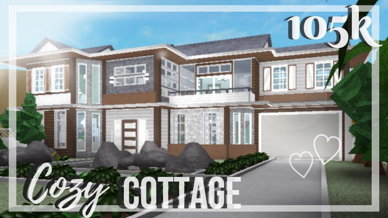 Roblox Bloxburg Cozy Cottage Youtube