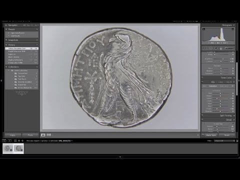 How To Photograph Ancient Coins