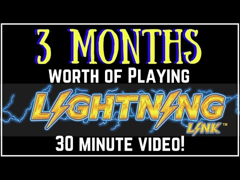 3 Months of Lightning Link! ✦ LONG Videos EVERY Monday in December ✦ Slot Machine Pokies