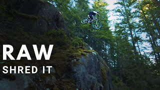 Remy Metailler Squamish SHRED IT... with NO music | RAW Edition
