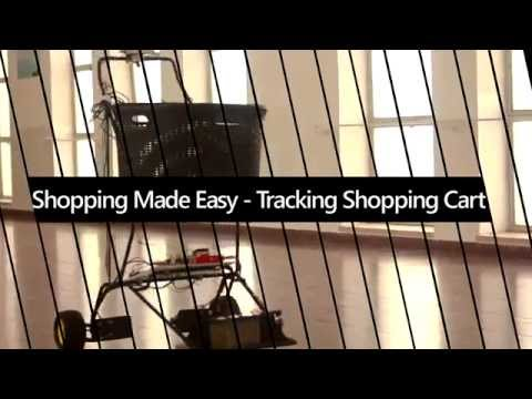 Autonomous Tracking Shopping Cart - Shopping Made Easy from Technion