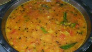Tomato Pappu - Tomato Dal (Lentils) - Indian Andhra Telugu Recipes