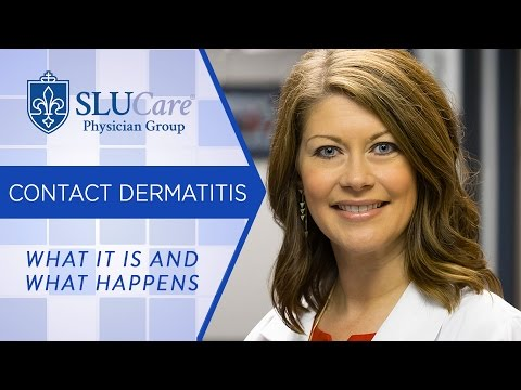 What Is Contact Dermatitis And What Happens In Your Body To Cause It - SLUCare Dermatology