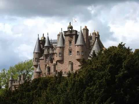 Enjoy The Views of Glamis Castle in Angus