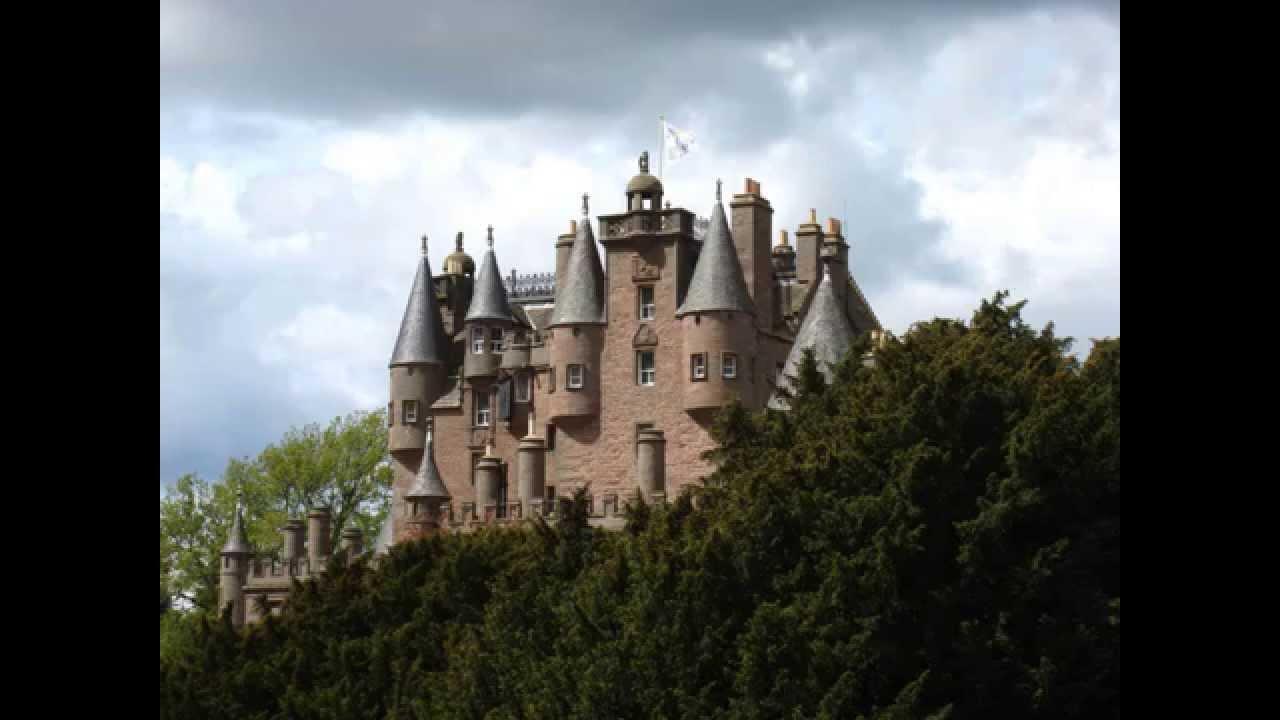 Glamis Castle Angus Scotland Youtube