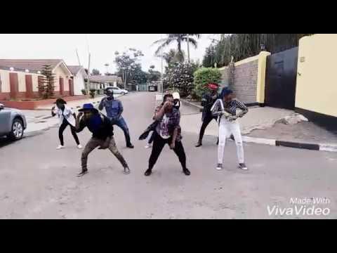 Cheki vile dance (The Fantagious 7)-Eko Dydda
