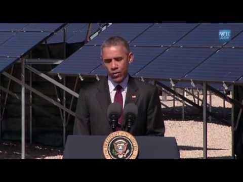 President Obama Speaks on Jobs in America's Solar Energy