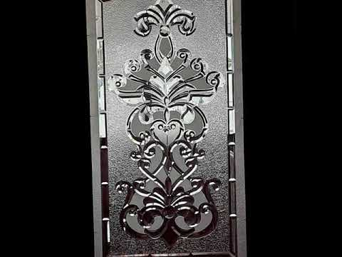 Latest GLASS ETCHING designs