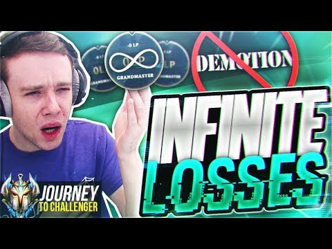 WTF? NEW BUG MAKES IT SO YOU CANT DEMOTE AT 0 LP? - Journey To Challenger  LoL