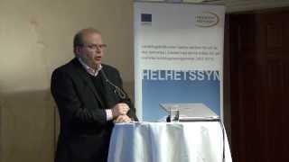 Eskil Erlandsson talar om landsbygdsprogrammet 2014-2020