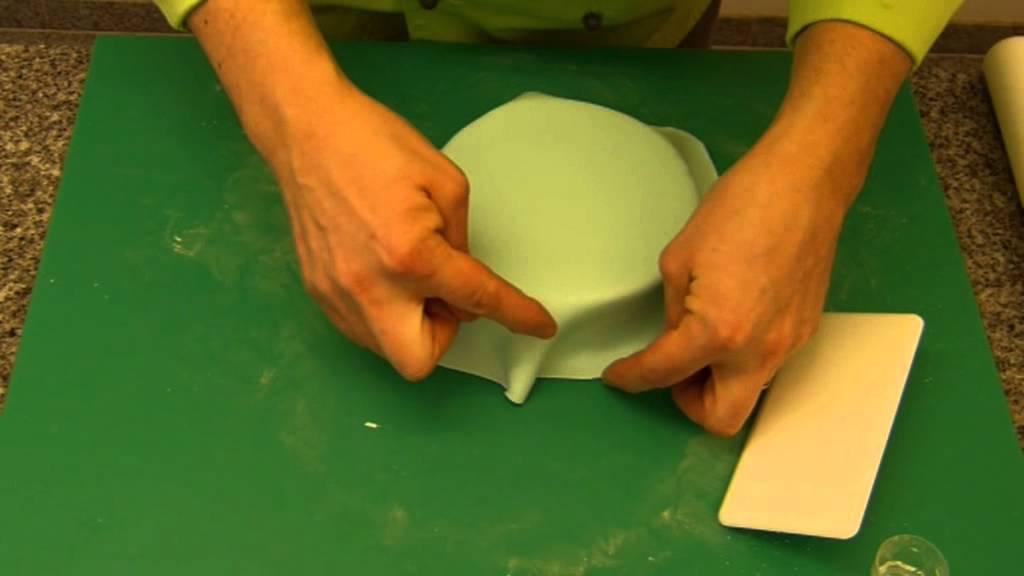 Kuchen aus rollfondant