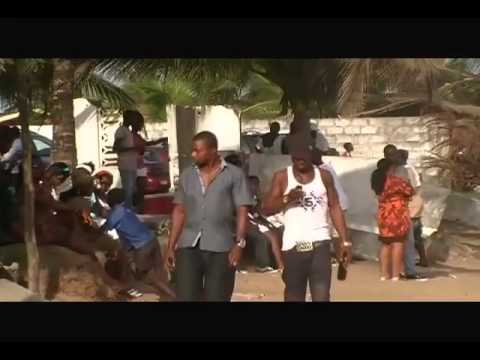 BEACH LIFE IN LIBERIA