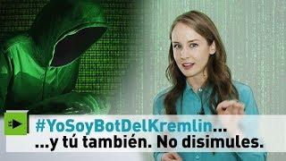 Para la prensa española tu eres un bot ruso -  Inna Afinogenova @inafinogenova